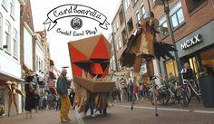 Cardboardia parade on Spoffin (NL)