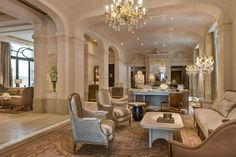 Free WiFi and an indoor pool at Hôtel de Crillon A Rosewood Hotel, Paris. Luxury hotel close to Champs-Elysees. Hotel Paris, Paris Hotels, Crillon Paris, Rosewood Hotel, Contemporary Home Furniture, Hotel Interiors, French Interiors, House Styles, Home Decor