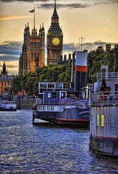 The Thames 6.35 PM - London