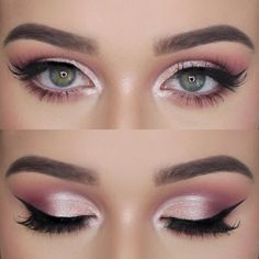eye makeup 45 Most Stunning And Eye-catching Purple Makeup For Eyes Makes You Unforgettable. 45 Most Stunning And Eye-catching Purple Makeup For Eyes Makes You Unforgettable In Prom - Eye Makeup 𝖊𝖞𝖊 𝖒𝖆𝖐𝖊𝖚𝖕💗 💗 💗 💗 💗 Purple Wedding Makeup, Wedding Makeup Tips, Purple Eye Makeup, Wedding Makeup Looks, Bridal Makeup, Purple Makeup Looks, White Eye Makeup, Shimmer Eye Makeup, Prom Eye Makeup