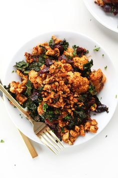 Masala Spiced Tofu Scramble | These 26 Recipes Will Make You Fall In Love With Kale