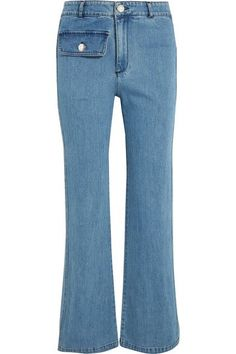 See by Chloé - High-rise Straight-leg Jeans - Mid denim - 24