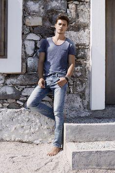 Francisco Lachowski for Mavi Jeans S/S 2015 Campaign.
