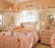 #shabby #pink #bedroom