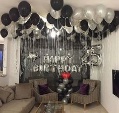 Birthday Party Decorations For Adults Men Decor Best Ide.- Birthday Party Decorations For Adults Men Decor Best Ideas Birthday Party Decorations For Adults Men Decor Best Ideas - Adult Birthday Party, 30th Birthday Parties, Man Birthday, Birthday Wishes, Birthday Room Surprise, 25th Birthday Ideas For Him, Boyfriends 21st Birthday, Happy Birthday, Birthday Surprises For Him