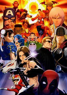 Marvel vs. Capcom .. Capcom wins, always!
