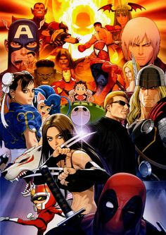 Marvel vs Capcom 3 •Shinkiro