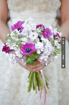 So awesome - purple and white wedding bouquet // photo by Jessica Schmitt // bouquet by G! Designs   CHECK OUT MORE GREAT PURPLE WEDDING IDEAS AT WEDDINGPINS.NET   #weddings #wedding #purplewedding #purpleweddingphotos #events #forweddings #iloveweddings #purple #romance #vintage #planners #ilovepurple #ceremonyphotos #weddingphotos #weddingpictures