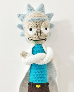 My wife and her friend make crochet things. They made a Rick from Rick and Morty! http://ift.tt/2frxHJn