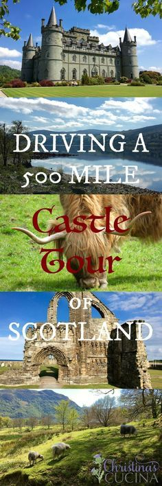 See Scotland the way it was meant to be seen--by leisurely driving through the beautiful sights that it has to offer.