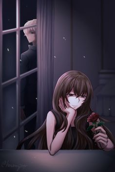 """DAY 9 after game branch """"No big deal. Her face didn't deserve my attention in the first place."""" (the flower. you know, Ray sends it to MC on the second day) Mystic Messenger Unknown, Mystic Messenger Yoosung, Luciel Choi, Messenger Games, Mystic Messenger Characters, Saeran Choi, Double Image, Jumin Han, Fairy Tail Ships"""