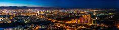 #architecture #buildings #city #city lights #cityscape #dusk #evening #illuminated #night #night view #outdoors #panorama #panoramic #sight #sky #skyline #skyscrapers #sunset #town #travel #urban