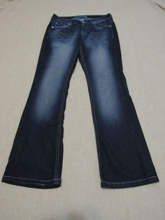 Maurices Original Flare Women's Jeans Size  7/8 Regular #Maurices #Flare