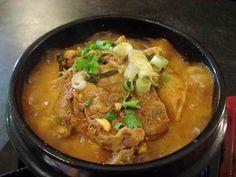 Gamjatang. Korean pork spine soup is slowly becoming my comfort food.