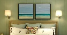 Each of these beautiful coastal beach bedrooms captures the serene environment of the beach in a different way. Some beach bedrooms are soph...