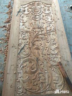 Single Door Design, Front Door Design Wood, Wooden Door Design, Wooden Doors, Main Door, Single Doors, Wood Carvings, Wood Pieces, Wood Work