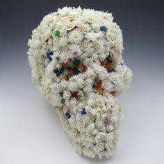 Wearable Glass Objects and Sculptures by Kit Paulson Mixed Media Sculpture, Colossal Art, Glass Flowers, Skull And Bones, Glass Art, Sculptures, Creations, Objects, Murphysboro Illinois