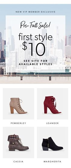 Hey Girl! Fall Styles Are IN - Get Your First Style for Only $10! Take the 60 Second Style Quiz to get this exclusive offer!