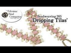 ▶ Make a 'Dropping Tilas' Bracelet  ~ Seed Bead Tutorials