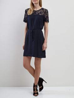 LACE DRESS, Total Eclipse, large