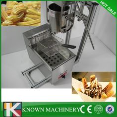 Hot sale free shipping Manual Spanish 6L gas fryer churro churrera maker machine/electric Fryer //Price: $US $700.00 & FREE Shipping // #cleaningappliances