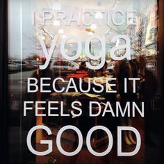 Why do you practice yoga?