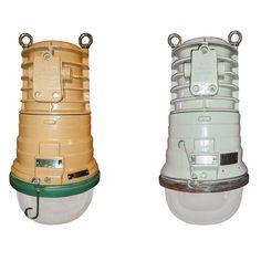 Giant Industrial Explosion-proof Lamps #giantindustriallamps #industriallighting #EOW #EOWlamps #industrialdesign #hugelamps #lightinig