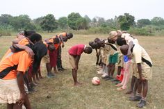 They prayed before the match. www.simoneskids.com Hope In God, Soccer Match, Primary School, Uganda, Pray, Pictures, Photos, Elementary Schools, Drawings