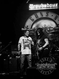 Slash and Axl, 2016 at The Troubadour