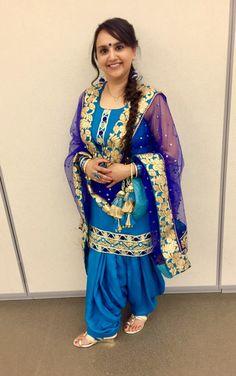 Punjabi Salwar Suits, Patiala, Shalwar Kameez, Sari, Fashion, Saree, Moda, La Mode, Salwar Kameez