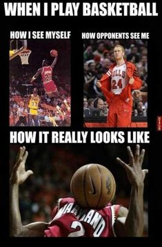 Basketball meme funny sports quotes, funny sports pictures, sports humor, f Funny Nba Memes, Funny Basketball Memes, Funny Sports Quotes, Basketball Problems, Funny Sports Pictures, Basketball Is Life, Basketball Skills, Basketball Pictures, Sports Humor