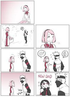 Anime Naruto, Kakashi Sensei, Naruto Sasuke Sakura, Naruto Comic, Sarada Uchiha, Naruto Cute, Naruto Shippuden Sasuke, Naruto Girls, Haikyuu Anime