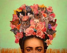 """""""Cat Art Show LA 2: The Sequel"""" will be heading to downtown Los Angeles's Think Tank Gallery this weekend for its second iteration."""