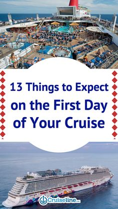 If you've never been on a cruise, you may have a hard time imagining what it's like to board.