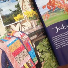 'Jack and Jill' in the September Issue of the Quilter's Companion Magazine