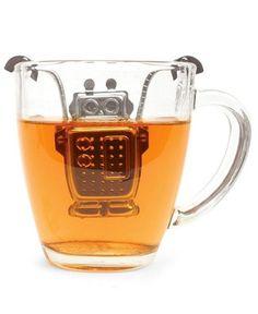 Robot tea infuser. // http://www.amazon.com/gp/product/B005SW8D7W?ie=UTF8&tag=bm01f-20&linkCode=shr&camp=213733&creative=393177&creativeASIN=B005SW8D7W