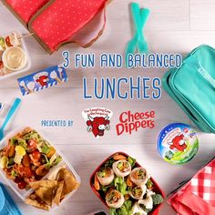 Healthy and fun snacks for a balanced lunch box - Kinder Mittagessen Healthy School Snacks, Lunch Snacks, Healthy Kids, Baby Food Recipes, Cooking Recipes, Healthy Recipes, Toddler Meals, Kids Meals, Kindergarten Lunch