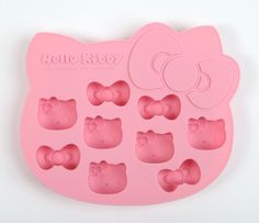 Make any beverage extra special with this Hello Kitty Die-Cut Ice Cube Tray! This tray features Hello Kitty's face and bow shape to create supercute ice cubes. - x x - Silicone - BPA Free - Can also be used as mini cake pan Sanrio Hello Kitty, Hello Kitty Haus, Hello Kitty Kitchen, Hello Kitty Items, Princess Kitty, Pink Princess, Wonderful Day, Ice Cube Trays, Ice Tray