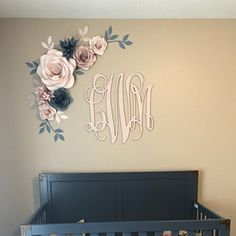 Lilac and Blush Nursery Wall Paper Flowers - Paper Flowers wall Decor - Paper Flower Wall Decor - Nursery paper flowers (Code: Paper Flower Decor, Large Paper Flowers, Paper Flower Backdrop, Flower Wall Decor, Wall Flowers, Flower Wall Wedding, Paper Flowers Wedding, Wedding Paper, Backdrop Wedding