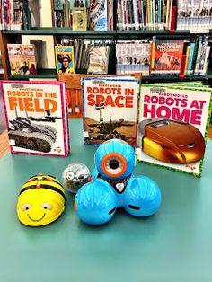 Happy Hour of Code Week Robots Dash, Sphero and Beebot
