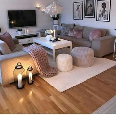 10 Comfortable and Cozy Living Rooms Ideas You Must Check! – Hoomble Most comfortable and cozy living room ideas Cozy Living Rooms, Living Room Grey, Living Room Furniture, Living Room Decor, Grey Furniture, Luxury Furniture, Vintage Bedroom Decor, Salons Cosy, First Apartment Decorating