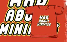 """""""MAD ABOUT MINIFIGS by Customize My Minifig"""" Kids Clothes by ChilleeW 