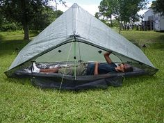 ZPacks.com Ultralight Backpacking Gear - Hexamid Long Cuben Fiber Tent