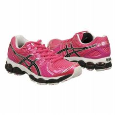 Asics GEL-Nimbus 14 Shoes (Neon Pink/Blk/Wht) - Women's Shoes - 9.0 M