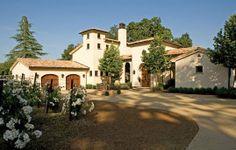tuscan style magazine   La Dolce Vita: A Superb Tuscan Style Villa, Napa Valley CA ...