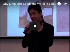 At Erikson Institute's first International Symposium on Early Mathematics Education, Dr. Ban Har Yeap, assistant professor of mathematics and mathematics edu. First International, Teaching Math, Mathematics, Singapore, Good Things, Education, World, Math, The World
