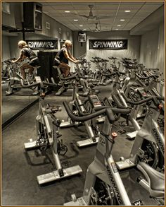 Spin class! This has turned into one of my favorite days of the week!