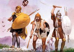 """""""The Kallinikos skirmish, 171 BC"""", Angus McBride"""