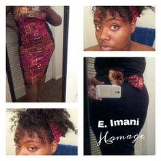 'Egypt' fitted tube dress. $50 Brilliant detail gives that perfect silhouette. To order, go to squareup.com/e-imani-homage As always, Be You Pay Homage.