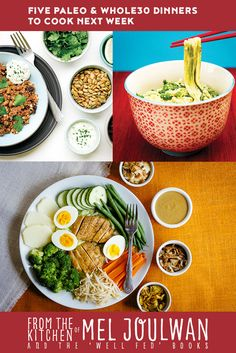 Five Paleo Dinners To Cook Next Week Take a bite of and paleo recipes inspired by world travel, like Cold Sesame-Cucumber Noodles, Italian Eggplant Strata, Gado Gado, Cevapcici & more. Paleo Meal Prep, Paleo Dinner, Gado Gado, Sesame Noodles, Paleo Whole 30, Next Week, Meals, Dinners, Food Hacks